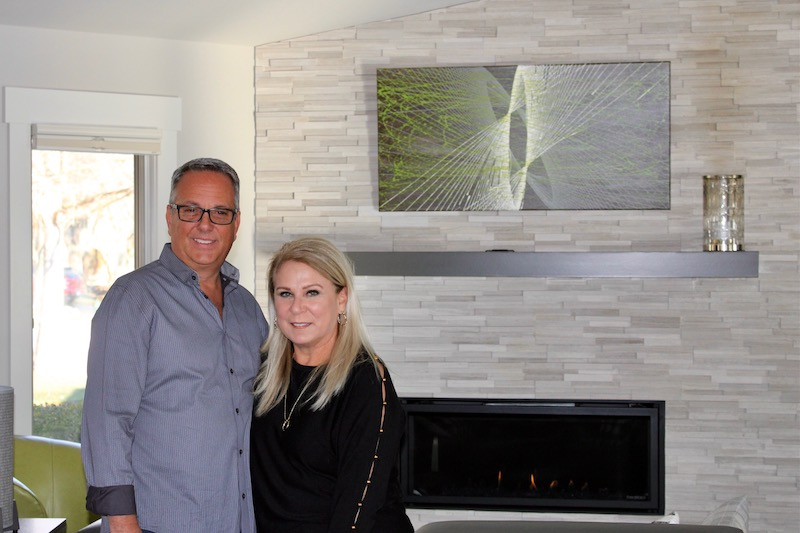 The Bailey family, who did a phased renovation with Epic Group.