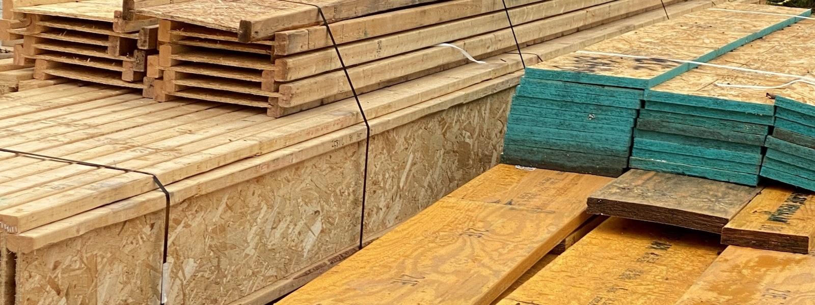 Lumber prices have risen.