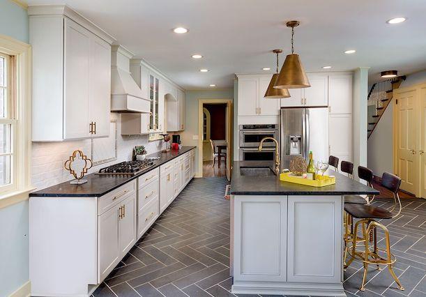 A kitchen renovation.